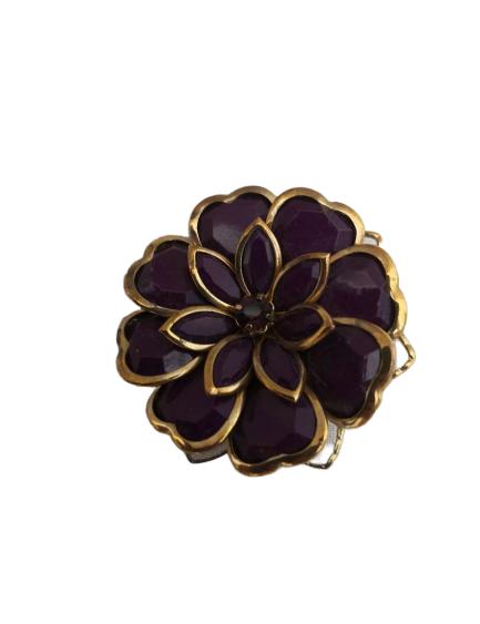 Broche fleurs vintage