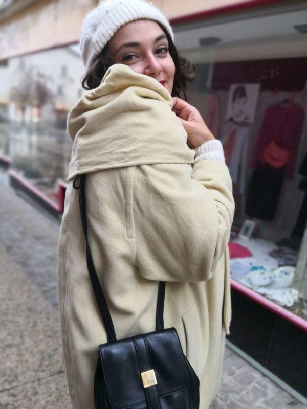 Manteau crème