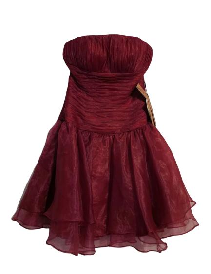 Robe de coktail rose