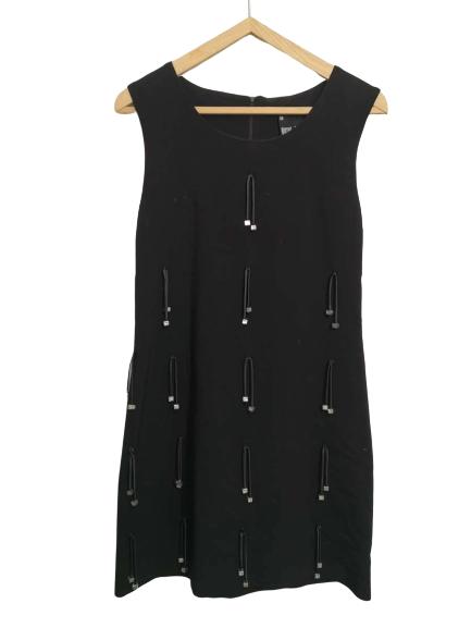robe vintage noir