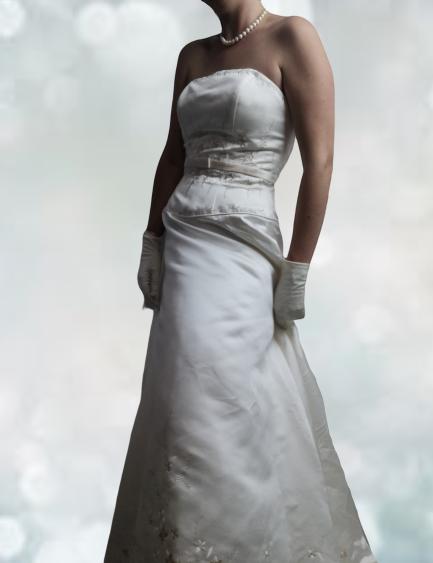 Robe de mariee d'occasion
