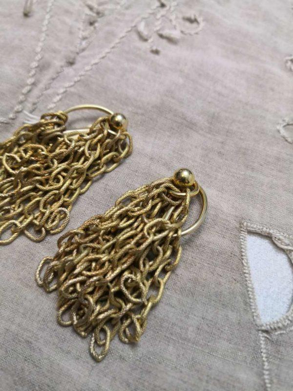 Boucles Dior vintage